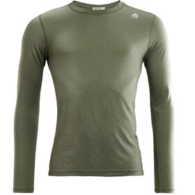 Aclima LightWool Crew Neck Shirt Heren, ranger green